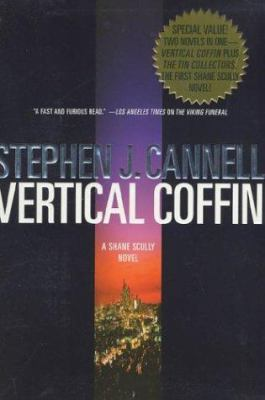 Cover image for Vertical coffin ; The tin collectors