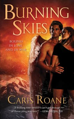Cover image for Burning skies