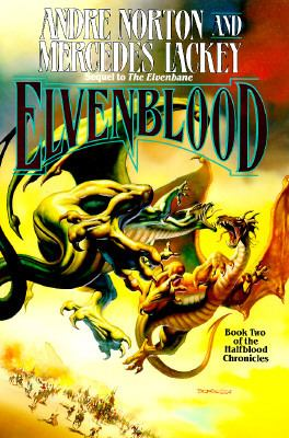 Cover image for Elvenblood : book two of the Halfblood chronicles
