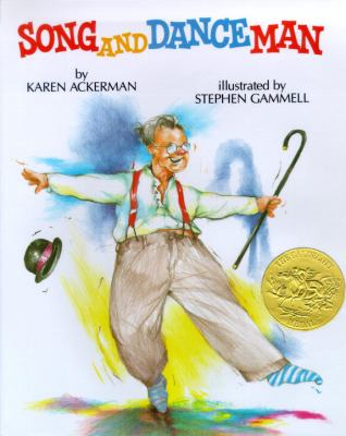 Cover image for Song and dance man