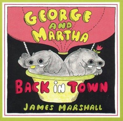 Cover image for George and Martha back in town
