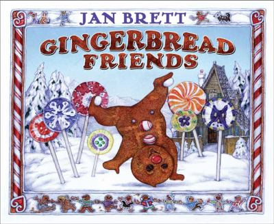 Cover image for Gingerbread friends