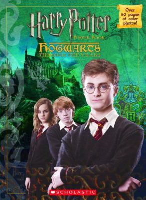 Cover image for Harry Potter poster book : Hogwarts through the years.