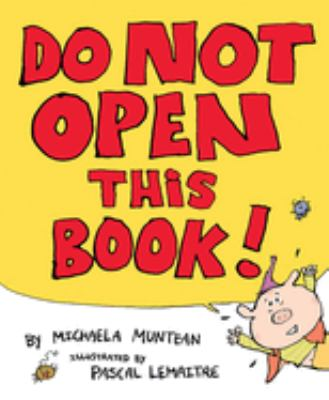 Cover image for Do not open this book!