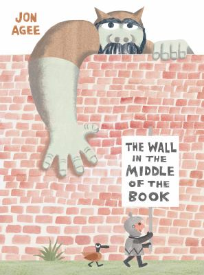 Cover image for The wall in the middle of the book