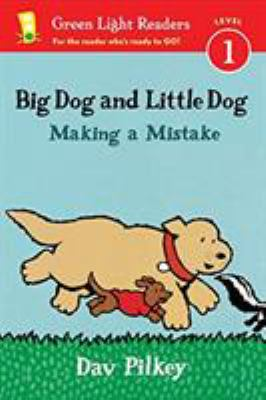 Cover image for Big Dog and Little Dog : making a mistake