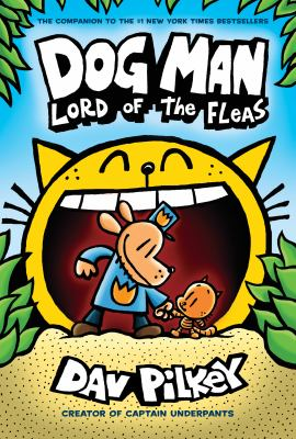 Cover image for Dog man : lord of the fleas
