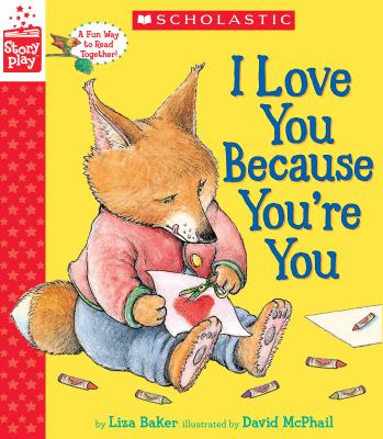 Cover image for I love you because you're you