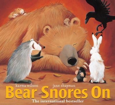 Cover image for Bear snores on