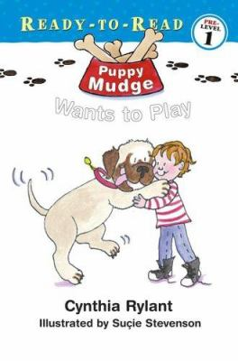 Cover image for Puppy Mudge wants to play