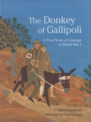 Cover image for The donkey of Gallipoli : a true story of courage in World War I