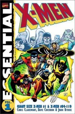 Cover image for Essential X-Men.