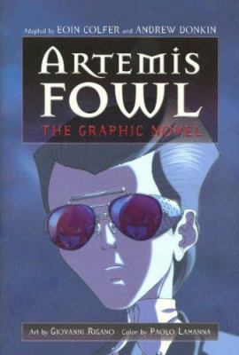 Cover image for Artemis Fowl : the graphic novel