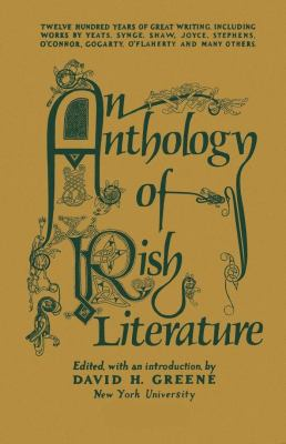 Cover image for An anthology of Irish literature