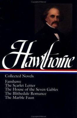 Cover image for Novels : Fanshawe ; The scarlet letter ; The house of seven gables ; The Blithedale romance ; The marble faun
