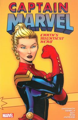Cover image for Captain Marvel : Earth's mightiest hero