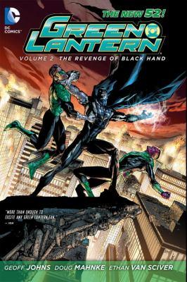 Cover image for Green lantern. Volume 2, The revenge of Black Hand