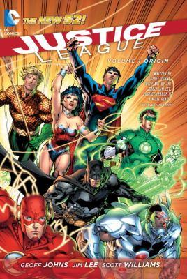 Cover image for Justice League. Volume 1, Origin