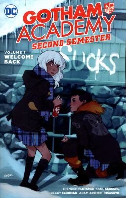 Cover image for Gotham Academy second semester
