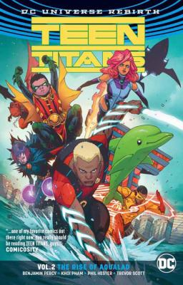 Cover image for Teen Titans. Vol. 2, The rise of Aqualad