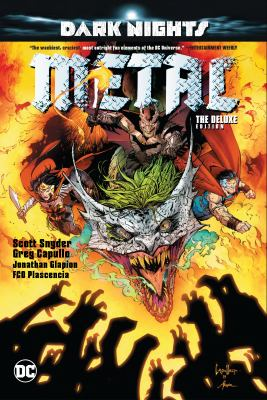 Cover image for Dark nights : metal