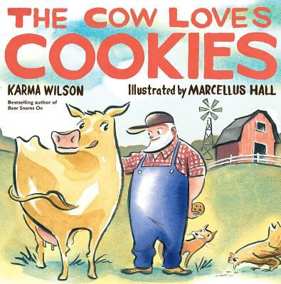 Cover image for The cow loves cookies