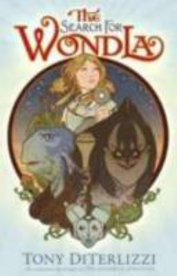 Cover image for The search for WondLa
