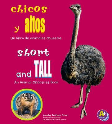 Cover image for Chicos y altos : un libro de animales opuestos