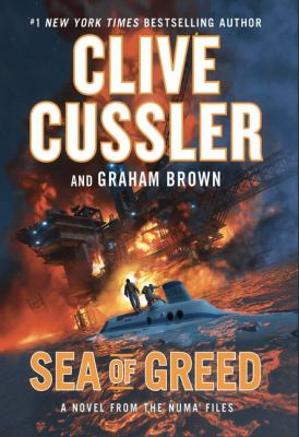 Cover image for Sea of greed : a novel from the Numa files