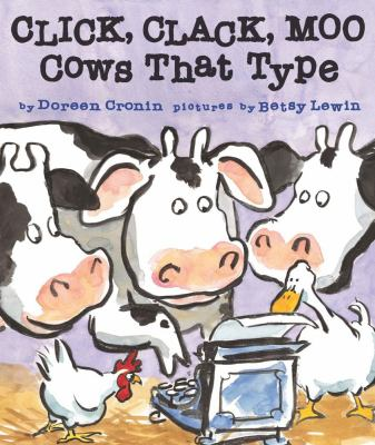 Cover image for Click, clack, moo : cows that type