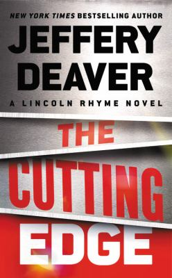 Cover image for The cutting edge : a Lincoln Rhyme novel