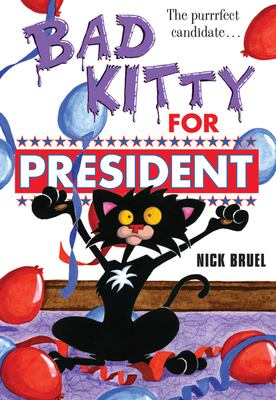 Cover image for Bad Kitty for president