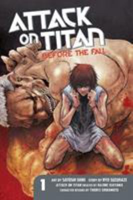 Cover image for Attack on Titan. Before the fall