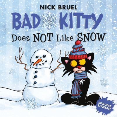 Cover image for Bad Kitty does not like snow