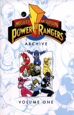 Cover image for Mighty morphin Power Rangers archive. Volume one.
