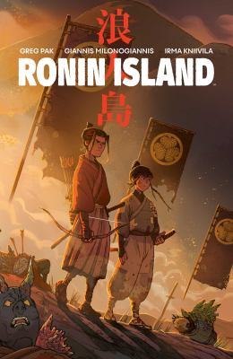 Cover image for Ronin Island