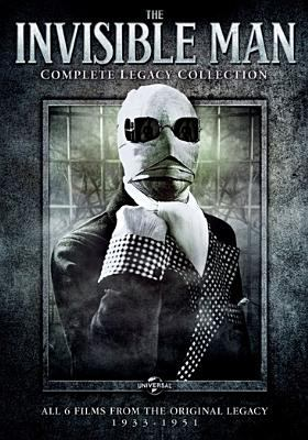 Cover image for The invisible man : complete legacy collection