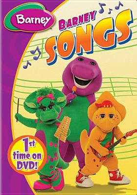 Cover image for Barney songs
