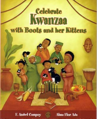 Celebra Kwanzaa con Botitas y sus gatitos(book-cover)