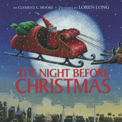 The Night Before Christmas (book-cover)