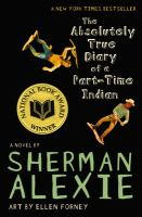 The Absolutely True Diary of a Part-Time Indian(book-cover)