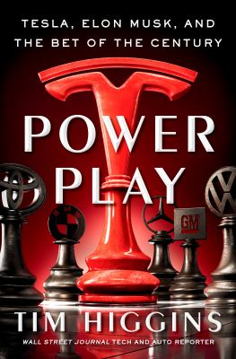 Power Play: Tesla, Elon Musk, and the Bet of the Century(book-cover)
