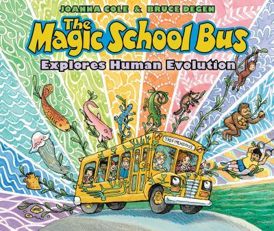 The Magic School Bus Explores Human Evolution(book-cover)