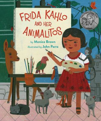 Frida Kahlo and Her Animalitos(book-cover)