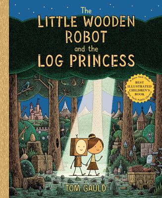 The Little Wooden Robot and the Log Princess(book-cover)