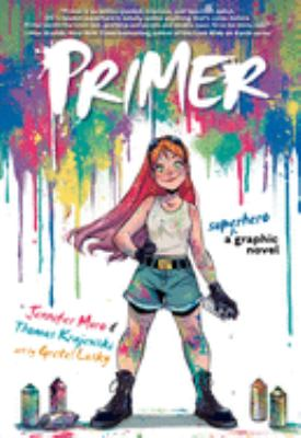 Primer: A Superhero Graphic Novel(book-cover)