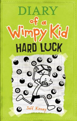 Diary of a Wimpy Kid: Hard Luck (book-cover)