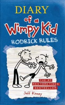 Diary of a Wimpy Kid: Rodrick Rules (book-cover)