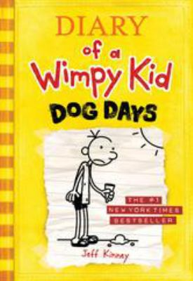 Diary of a Wimpy Kid: Dog Days(book-cover)