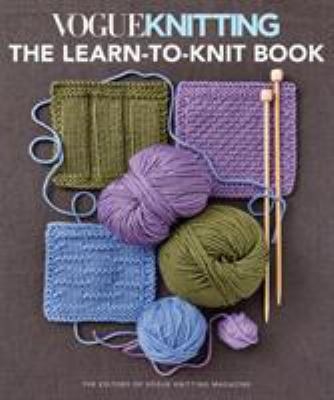 Vogue Knitting: The Learn to Knit Book(book-cover)